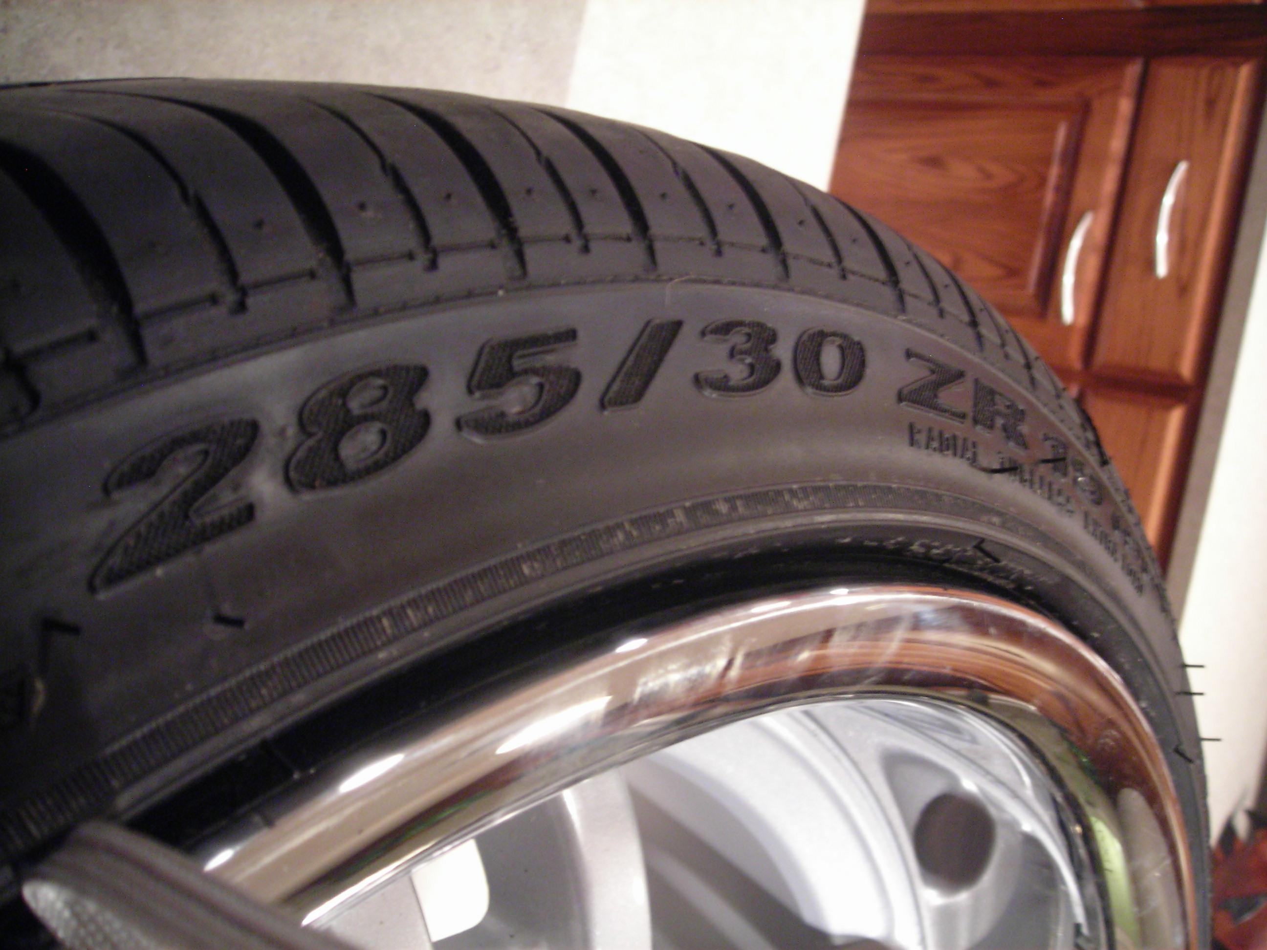 19x11 tires rear correct rims 2008 renntech edited january