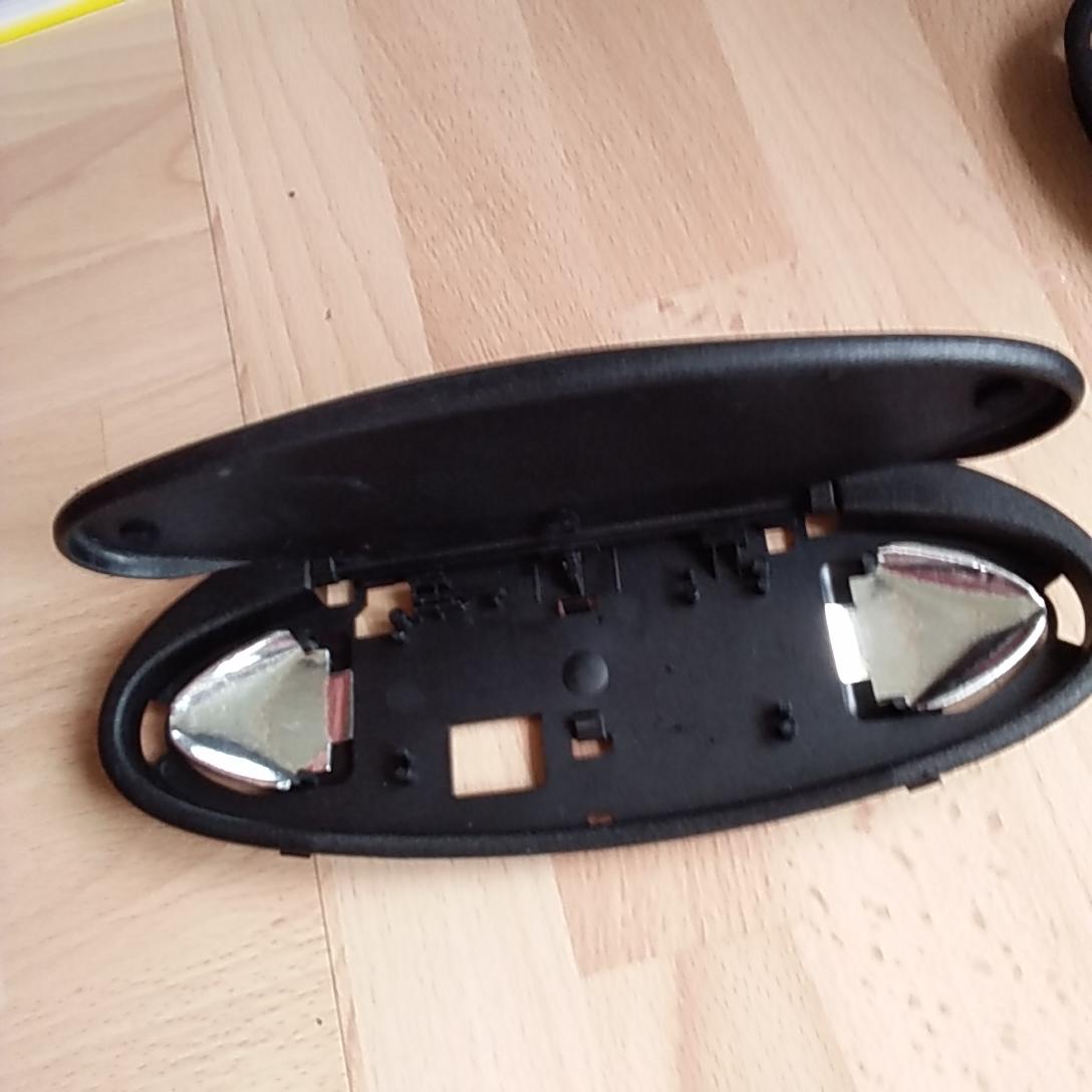Sun visor flaps cheap replacement for non lit mirror for Mirror visor