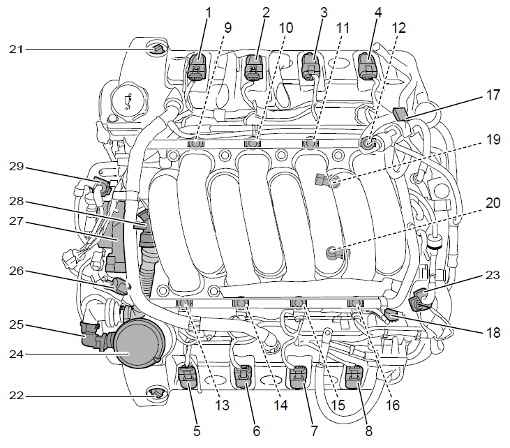 V8 Firing Order Diagram V8 Free Engine Image For User