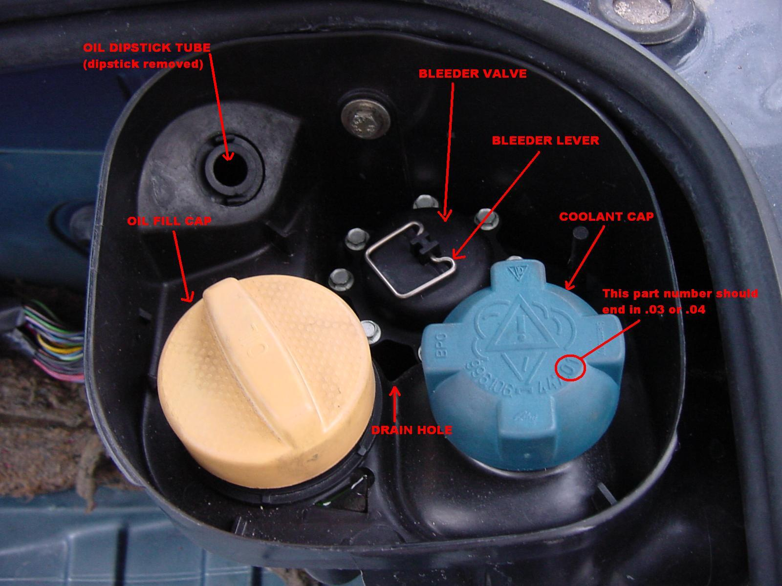 Coolant Tank Leak 986 Series Boxster Boxster S