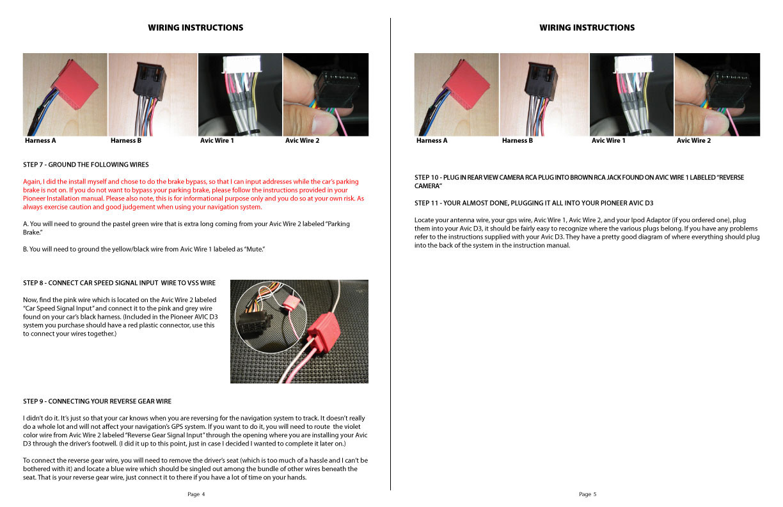 Porsche Boxster Avic D3 Installation Instructions
