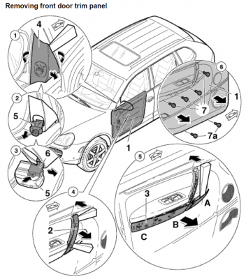Porsche Cayenne Front Door Handle Removal Images Album - Losro.com