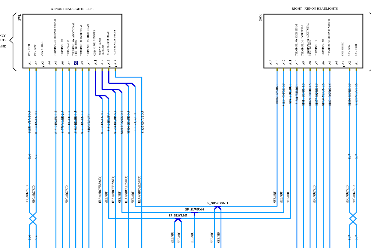 957 Bi-xenon Connector Pin Diagrams  Help