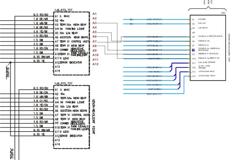 957 bi xenon connector pin diagrams help 9pa 9pa1 cayenne cayenne s cayenne turbo
