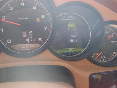 "2011 Pana4 ""PSM failure"" - 970 series (Panamera, 4, S, 4S ..."