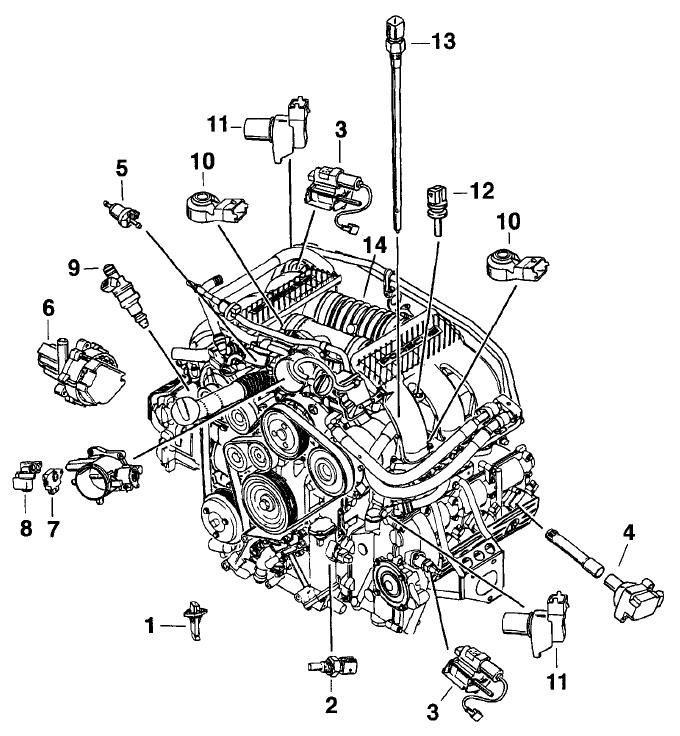 Porsche Boxster Engine Heat: 3.4 Liter Engine Parts Locations