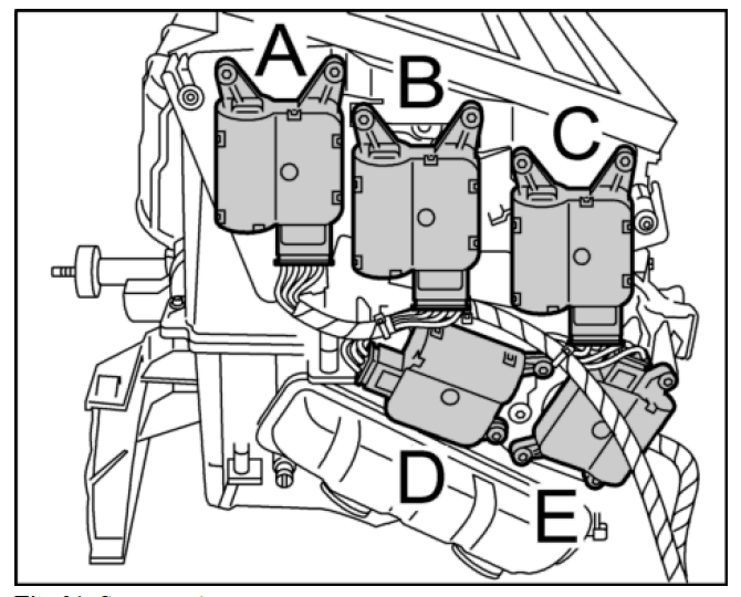 7j3yg 03 Dodge 3500 W 5 9 Ho Cummings Overheat in addition 04 Chevy Silverado Dual Climate Control Is Blowing Hot On Driver additionally Air Door Actuator 2001 Buick Lesabre in addition 05019632AB in addition No Heat In Car Or Heat Is Always On. on actuator temp door motor