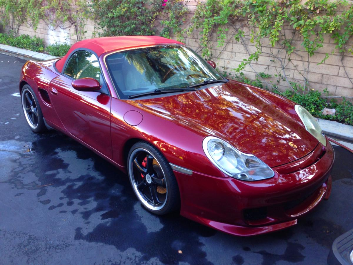 Arena Red Metallic Or Arena Red Pearl 84r Or 84s 986 Series Boxster Boxster S Renntech Org Community