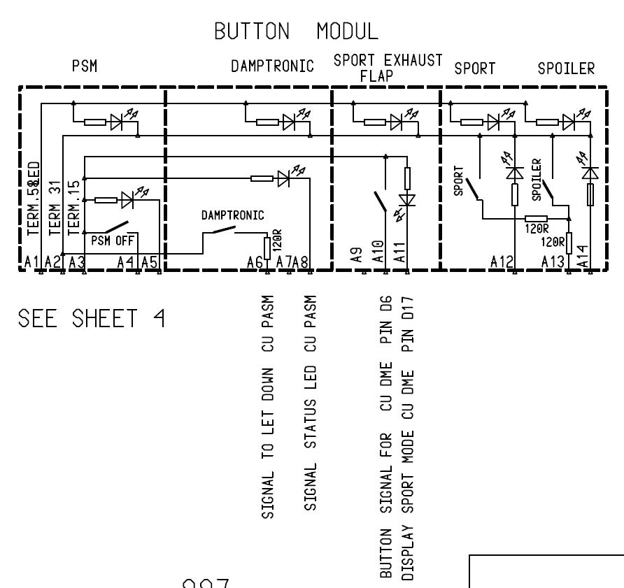 Wiring Diagram For Dash Button Strip Spoiler Pse Psm 997 1 Series Carrera Carrera 4 Carrera 2s Carrera 4s Renntech Org Community