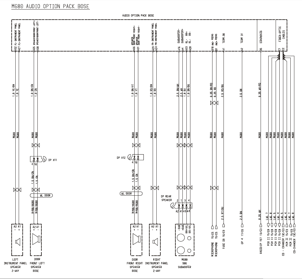 Replace Cdr23 And Bose Most Amplifier