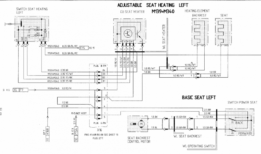 Heated Seat Wiring Diagram Porsche on
