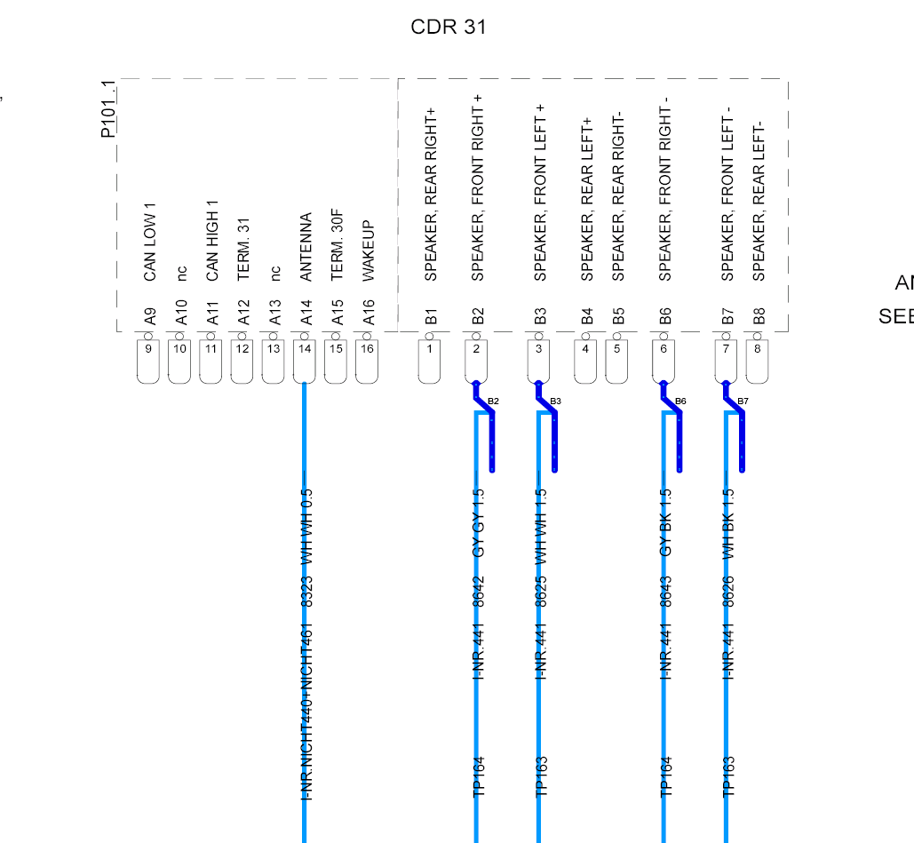 981 cdr wiring diagrams