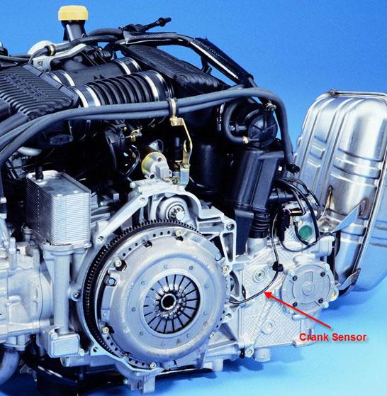 Porsche 996 Engine Code: Crankshaft Position Sensor Failure?