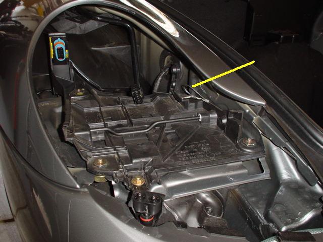 dead battery - closed hood